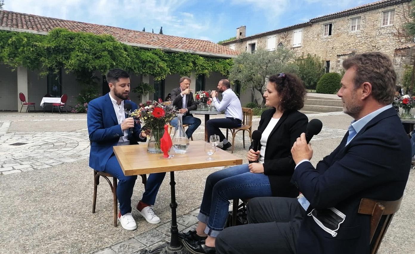 Jean Baptiste Geissler, directeur de la French Tech Aix Marseille aux cotes d'entrepreneurs engagés du territoire.