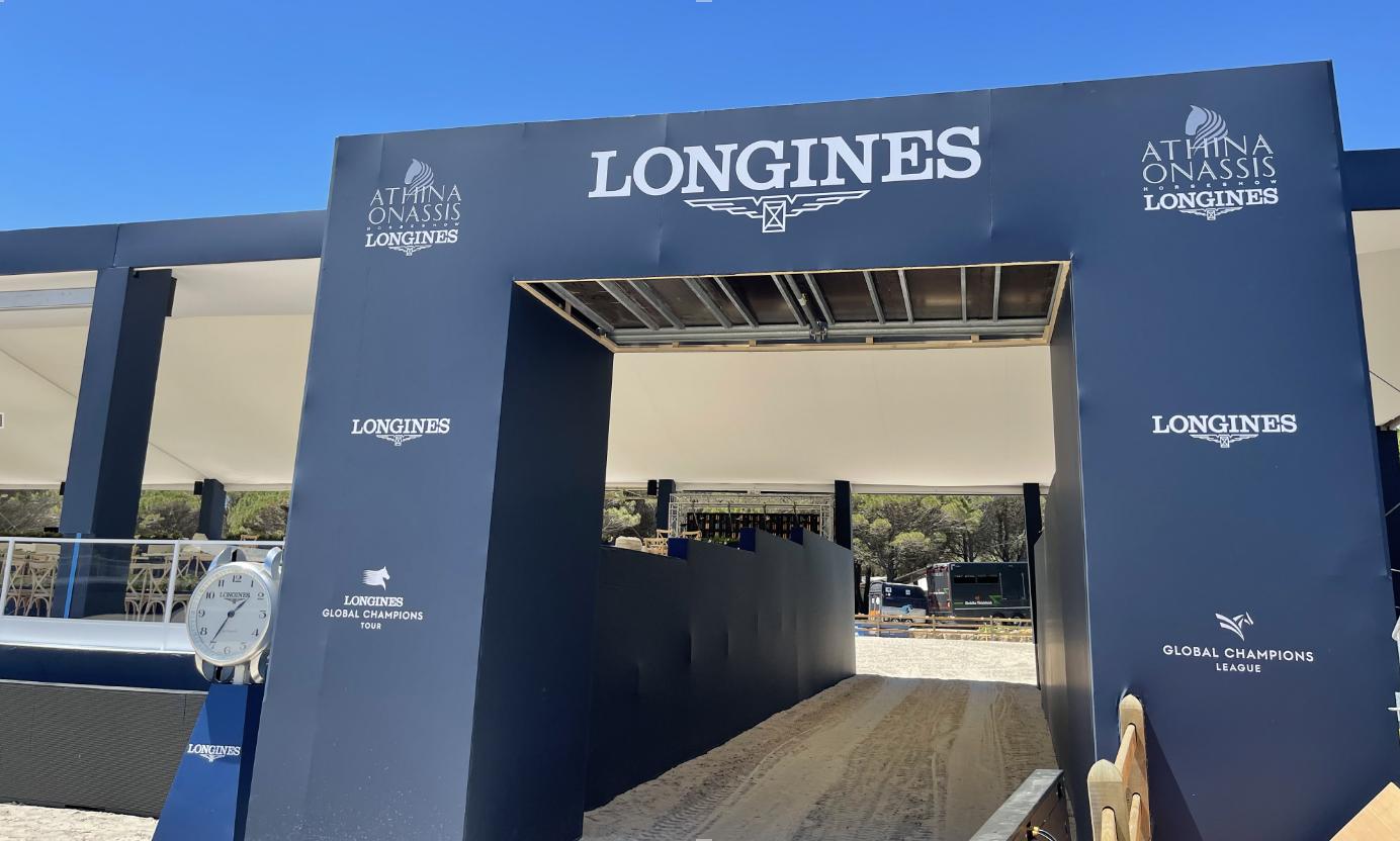 Longines Athina Onassis Horse Show à Ramatuelle, événement auquel AR Group apporte ses services ©DR