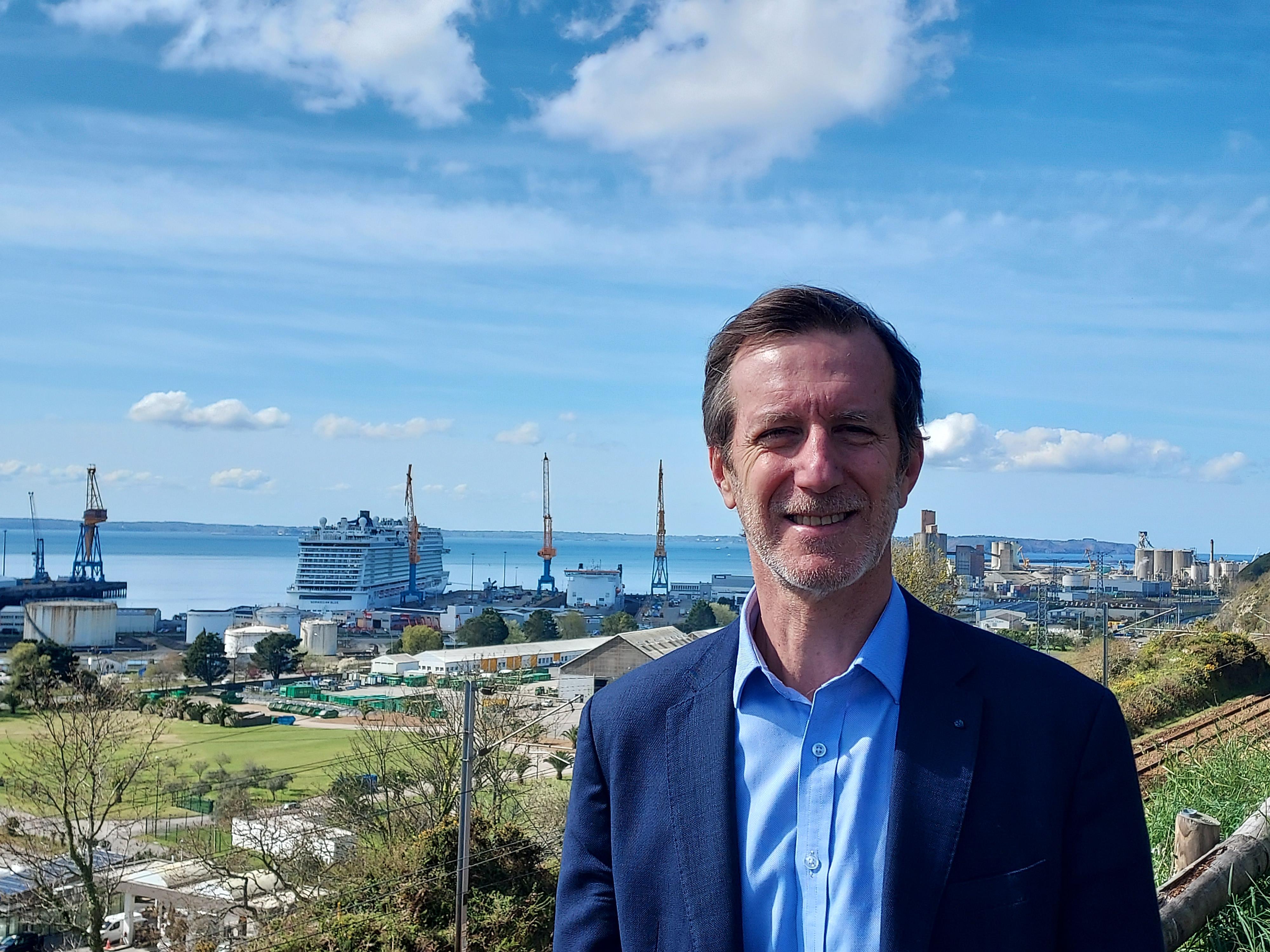 Xavier Rebour, directeur de France Cyber Maritime. ©DR