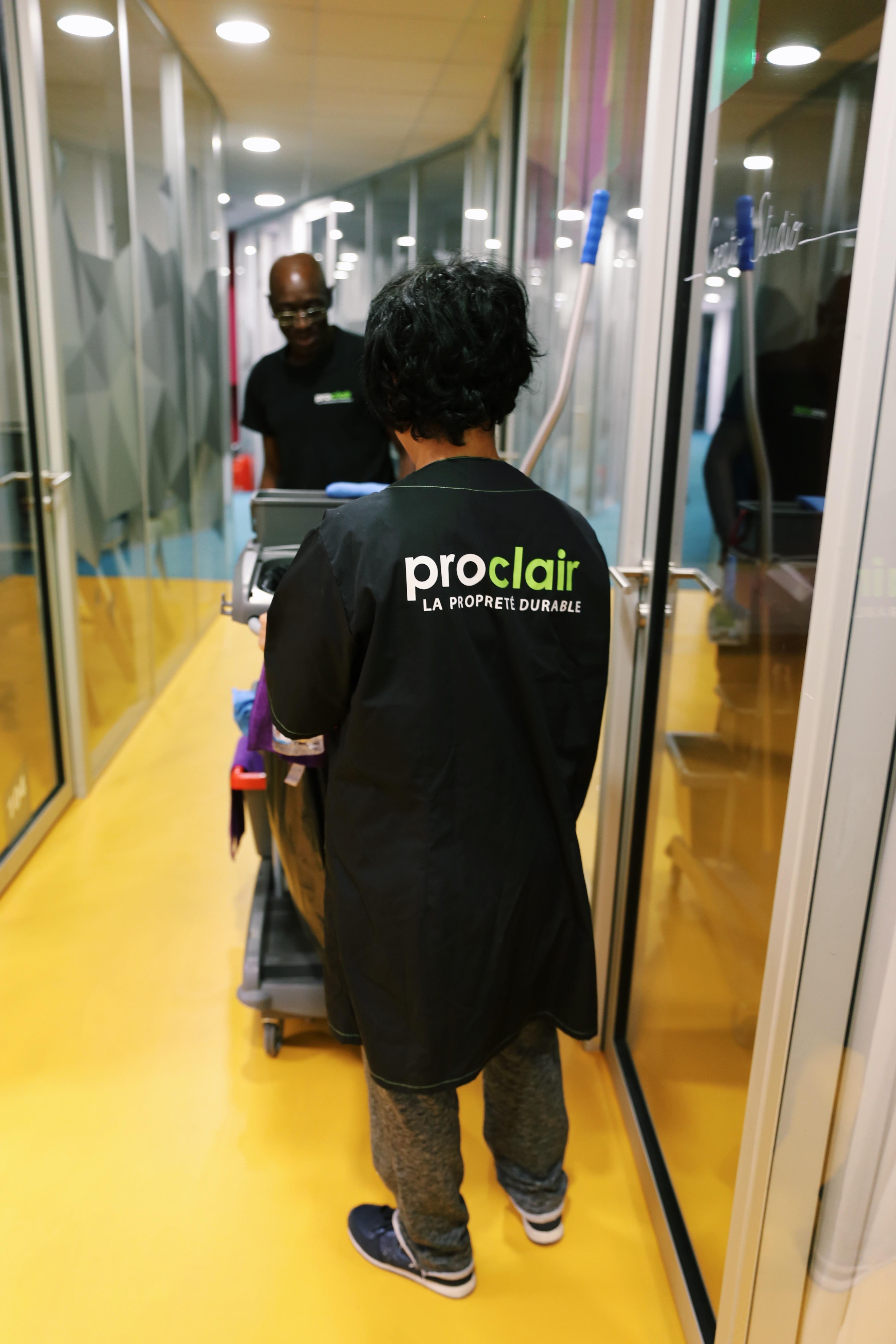 Les equipes de Proclair mobilisées sur de nombreux secteurs d'activité