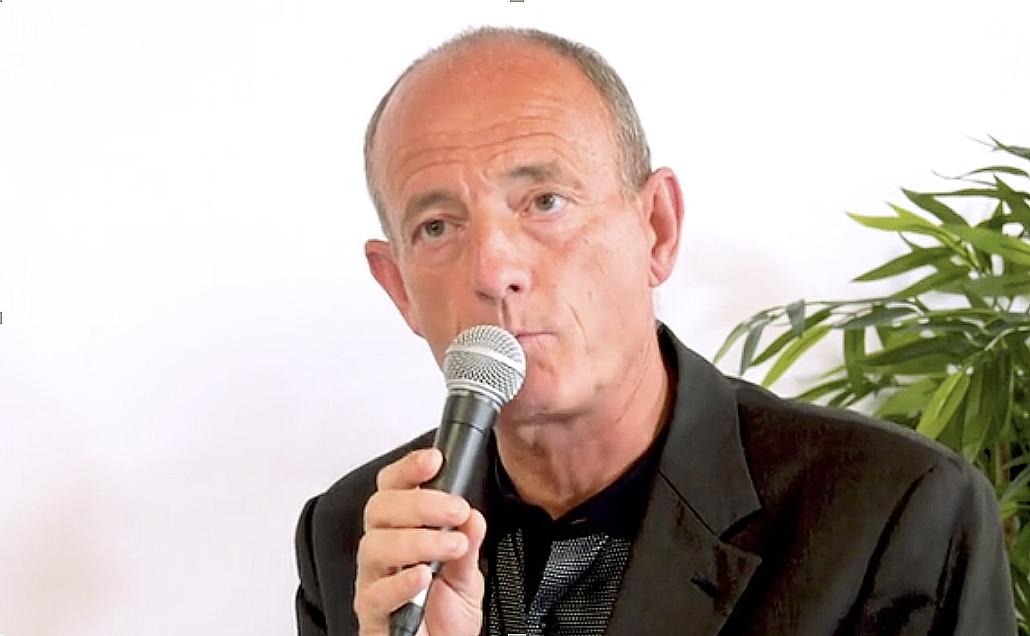 Le plaidoyer de l'ESS réclame un manat 2021-2027 pour l'accompagneent des transitions comme l'ndique Bruno Huss, trésorier de la CRESS (sortie-écran vidéo CRESS)