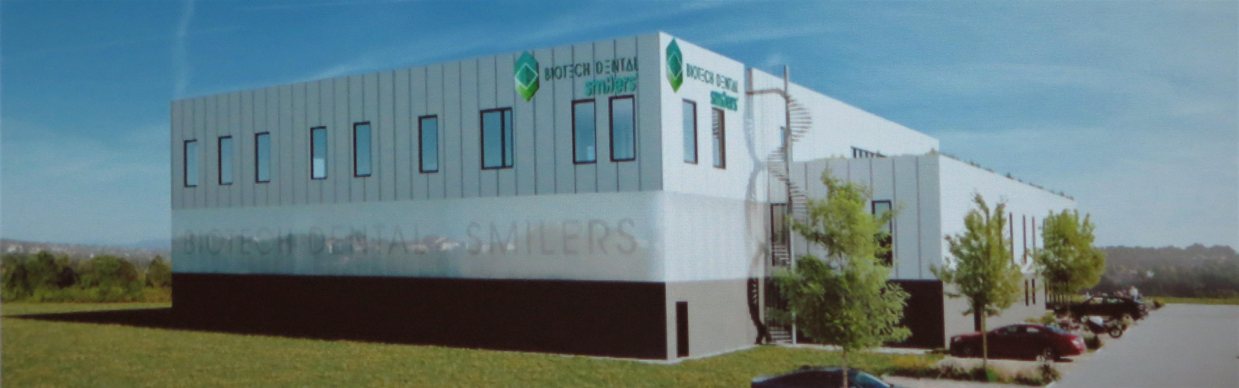 """La future usine """"Smilers"""" de Biotech Dental devrait entrer en service en septembre 2022"""