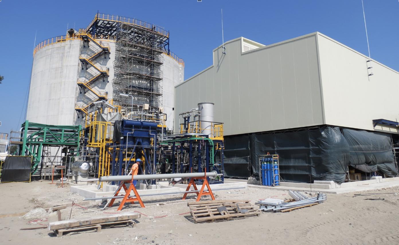 Le terminal d'éthylène représente 80 millions d'euros d'investissement (Photo JC Barla)