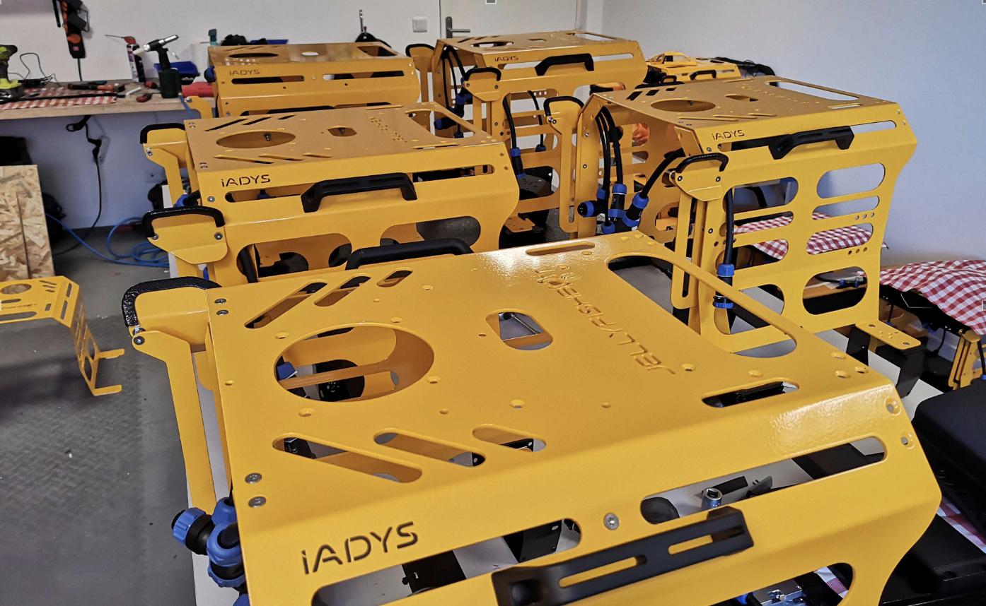 Jellyfishbot, le robot de Iadys dépollue les eaux