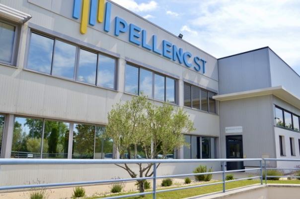 À Pertuis, Pellenc ST va passer sous trois ans de 5 000 m2 à 9 000 m2 . ©NBC