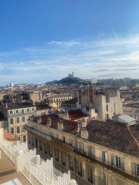 Vue du restaurant Ciel, deuxième site de The Babel Community à Marseille