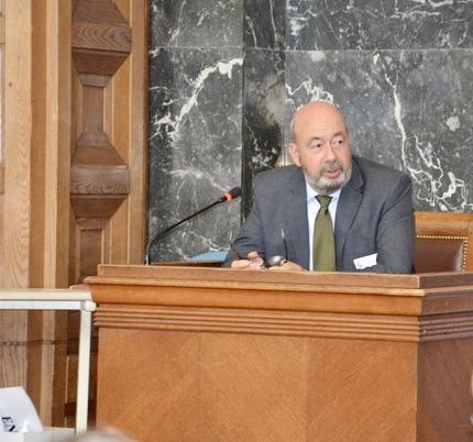 Georges Richelme, ancien président du tribunal de commerce de Marseille et président de la Commission « Mission sur la justice économique ». ©NBC
