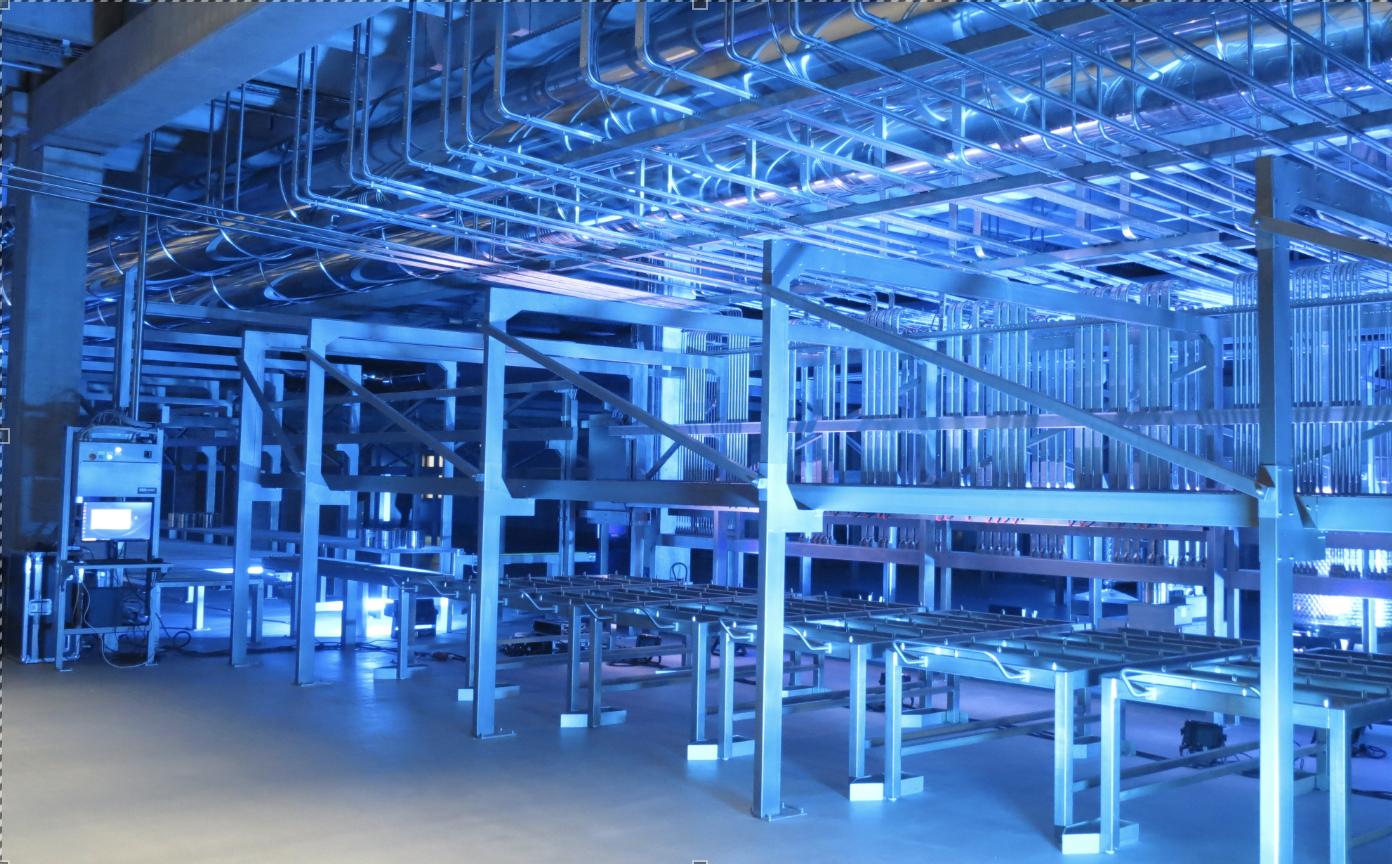 La nouvelle chaîne doit permettre d'atteindre une production de 2 000 tonnes par an (photo JC Barla)