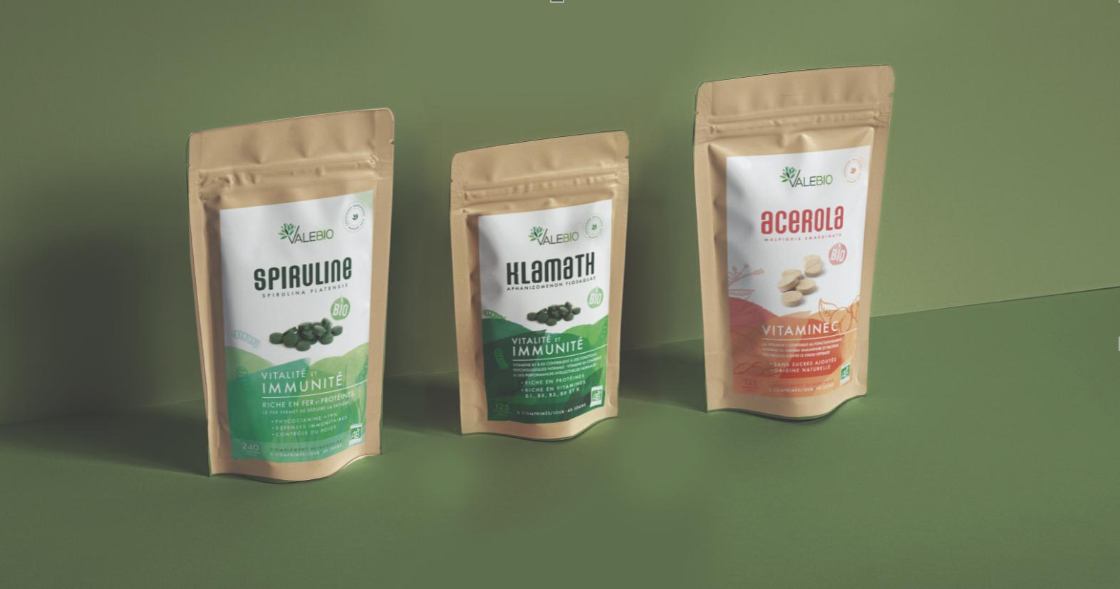 Les compléments alimentaires Valebio, entreprise créée à Marseille en 2013