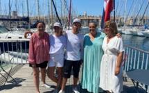 Une régate qui permet aux jeunes de découvrir la voile et les valeurs du sport avec le skippeur Christopher Pratt.