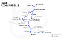 La Loop disposerait de quinze stations (carte : Loop AM)