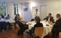 Le candidat Renaud Muselier devant l'Upe 13 pour convaincre les chefs d'entreprise