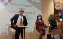 """Renaud Muselier promet """"zéro rideaux fermés en centre-ville"""""""